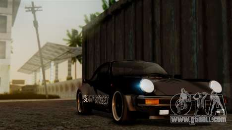 Porsche 911 Turbo (930) 1985 Kit C PJ for GTA San Andreas interior