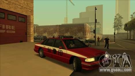 FDSA Premier Cruiser for GTA San Andreas