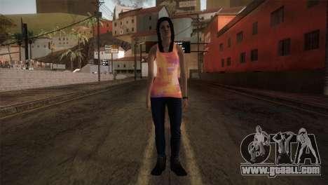 Alara Model Girl for GTA San Andreas second screenshot