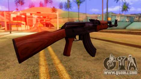 Atmosphere AK47 for GTA San Andreas second screenshot