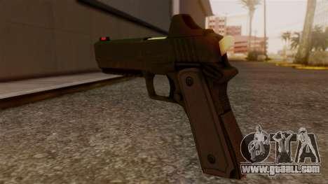 Heavy Pistol GTA 5 for GTA San Andreas second screenshot