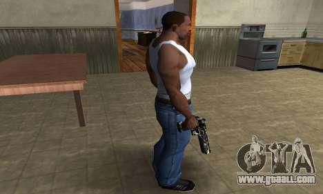 Deagle Camo for GTA San Andreas third screenshot