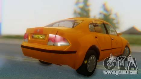 Samand Taxi for GTA San Andreas left view