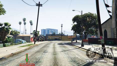 GTA 5 Display of location of player v1.06