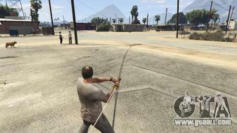 GTA 5 Katana v2.0 third screenshot