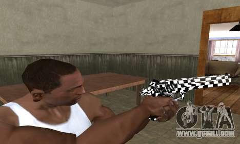 Math Deagle for GTA San Andreas third screenshot