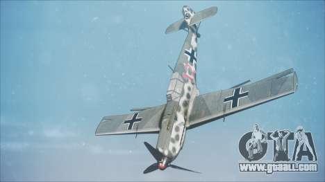 Messerschmitt BF-109 E-4 IJAAF for GTA San Andreas