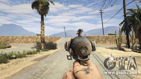 GTA 5 Fallout 3: Alien Blaster second screenshot