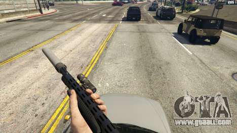 GTA 5 Stand On Moving Cars second screenshot