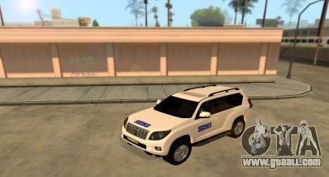 Toyota Land Cruiser OSCE (ОБСЕ) for GTA San Andreas
