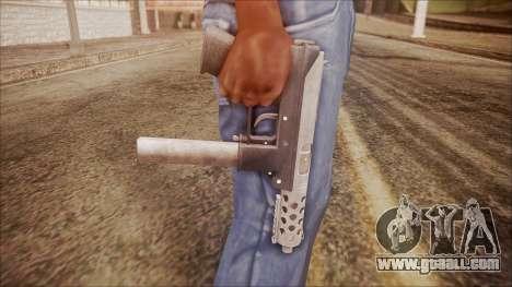TEC-9 v1 from Battlefield Hardline for GTA San Andreas third screenshot