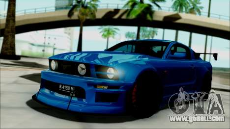 Ford Mustang GT Modification for GTA San Andreas