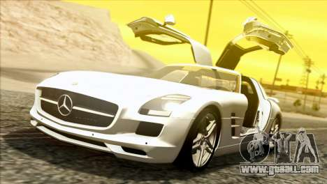 Mercedes-Benz SLS AMG 2013 for GTA San Andreas left view