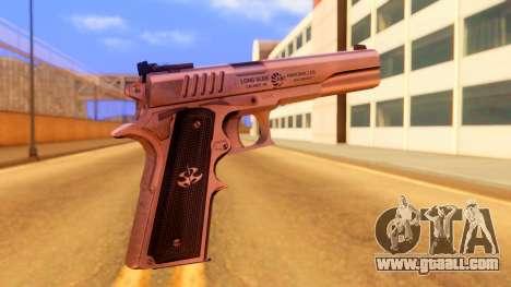 Atmosphere Pistol for GTA San Andreas second screenshot