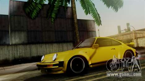 Porsche 911 Turbo (930) 1985 Kit C PJ for GTA San Andreas