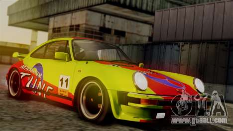 Porsche 911 Turbo (930) 1985 Kit C PJ for GTA San Andreas bottom view