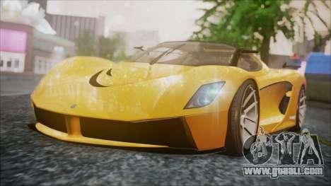 Grotti Turismo RXX-K for GTA San Andreas