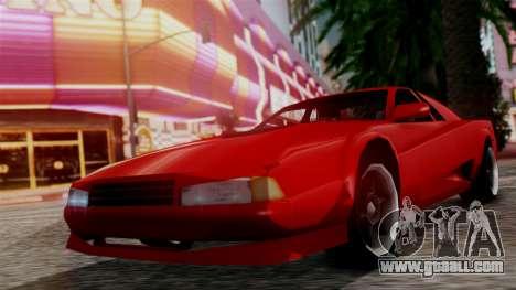 Cheetah New Edition for GTA San Andreas