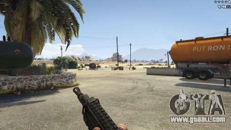 Battlefield 4 CZ805 for GTA 5