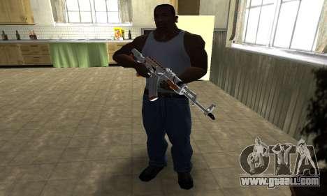AK-47 Asiimov for GTA San Andreas third screenshot