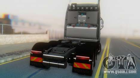 Volvo FH Euro 6 Heavy 8x4 for GTA San Andreas inner view