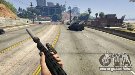 Stand On Moving Cars for GTA 5