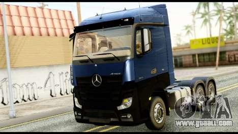 Mercedes-Benz Actros MP4 6x4 Exclucive Interior for GTA San Andreas