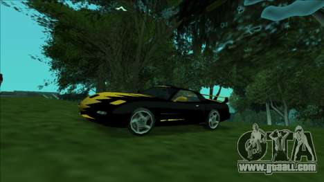 ZR-350 Double Lightning for GTA San Andreas back view