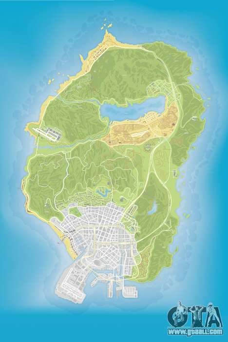 Color map v0.2 for GTA 5