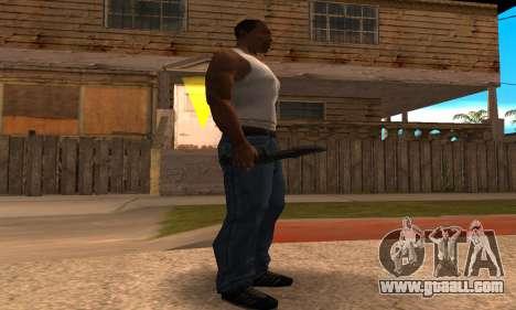 Cool Knife for GTA San Andreas second screenshot