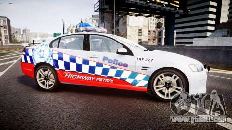 Holden Commodore SS Highway Patrol [ELS] for GTA 4 left view