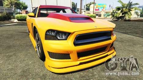 GTA 5 Bravado Buffalo Dodge Charger rear right side view