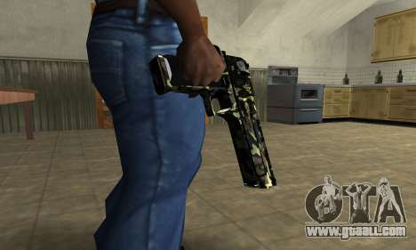 Deagle Camo for GTA San Andreas