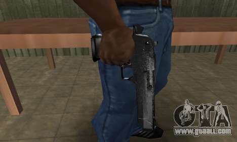 Military Deagle for GTA San Andreas
