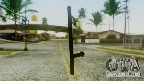 Police Baton from Silent Hill Downpour v2 for GTA San Andreas second screenshot