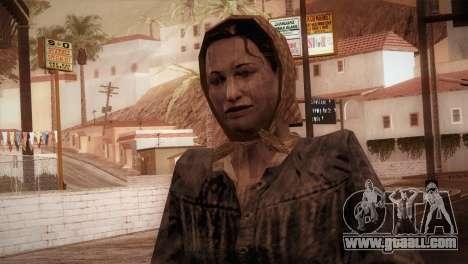 RE4 Maria for GTA San Andreas