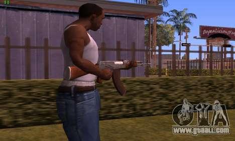 AK-47 from Battlefield Hardline for GTA San Andreas second screenshot