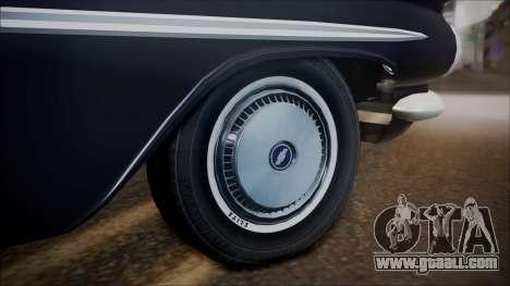 Chevrolet Impala 1959 for GTA San Andreas right view