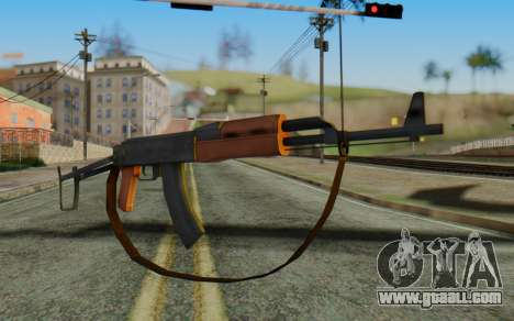 AK-47S with Strap for GTA San Andreas