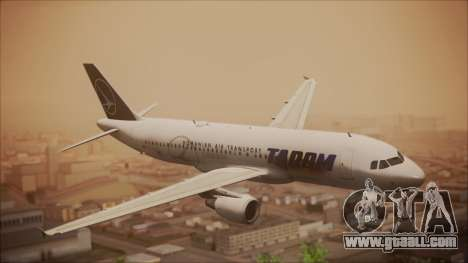 Airbus A320 TAROM Romania for GTA San Andreas