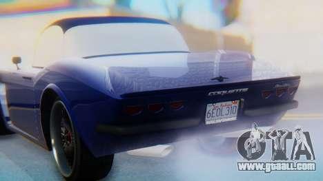 Invetero Coquette BlackFin v2 GTA 5 Plate for GTA San Andreas engine
