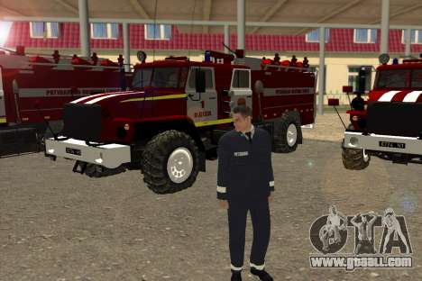 Rescuers Ukraine for GTA San Andreas third screenshot