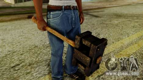 Bogeyman Hammer from Silent Hill Downpour v1 for GTA San Andreas second screenshot