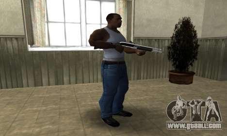 Royal Squad Shotgun for GTA San Andreas third screenshot