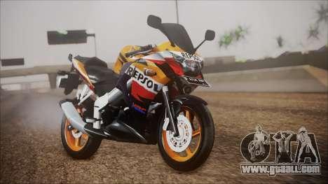 Honda CBR150R Repsol CBU for GTA San Andreas