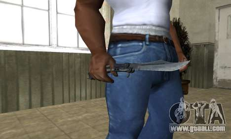 Butterfly Knife for GTA San Andreas third screenshot