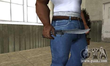 Butterfly Knife for GTA San Andreas third screenshot