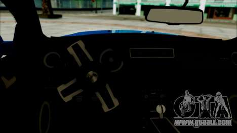 Ford Mustang GT Modification for GTA San Andreas back left view