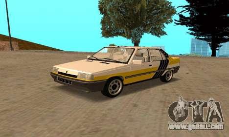 Renault 9 TSE 1992 for GTA San Andreas interior