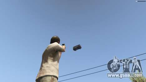 GTA 5 Gravity Gun 1.5 eighth screenshot
